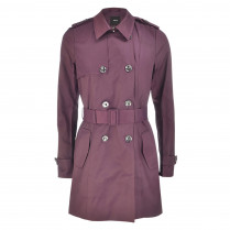 Trenchcoat - Regular Fit - Knopfverschluss