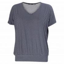 T-Shirt - Loose Fit - Karo