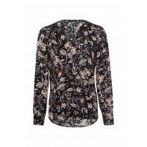 Bluse - Regular Fit - Muster