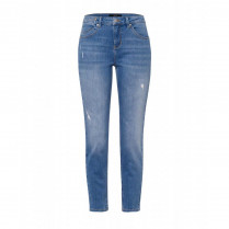 Jeans - Relaxed Fit - unifarben