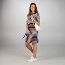 Kleid - Regular Fit - Ringel