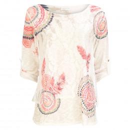 Shirt - Loose Fit - Spitze online im Shop bei meinfischer.de kaufen
