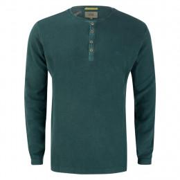 Henleyshirt - Regular Fit - Button online im Shop bei meinfischer.de kaufen