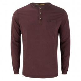 Henleyshirt - Regular Fit - Brusttasche online im Shop bei meinfischer.de kaufen
