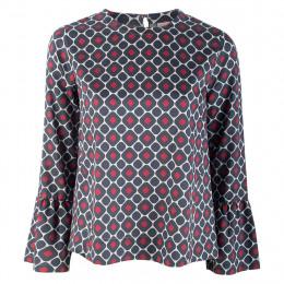 Bluse  - Loose Fit - Minicheck online im Shop bei meinfischer.de kaufen