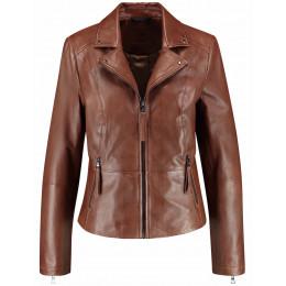 Jacke - fitted - Leder online im Shop bei meinfischer.de kaufen