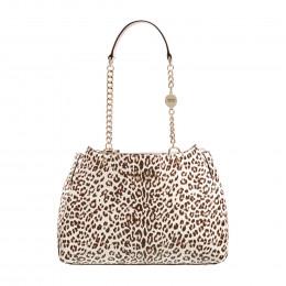 Handtasche - Leopard - Kettendetails online im Shop bei meinfischer.de kaufen