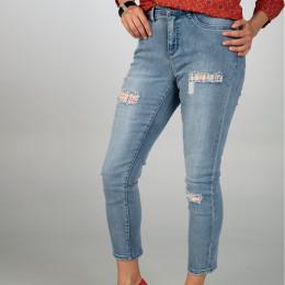 Jeans - Skinny Fit - Strass online im Shop bei meinfischer.de kaufen