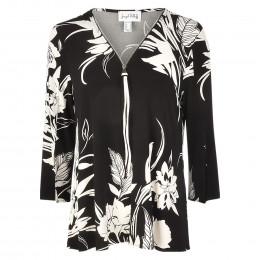 Shirt - Loose Fit - Zip online im Shop bei meinfischer.de kaufen