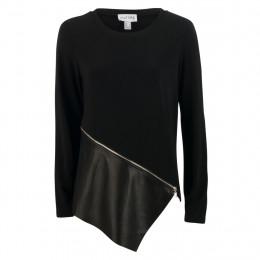 Shirt - Comfort Fit - Leder-Optik online im Shop bei meinfischer.de kaufen
