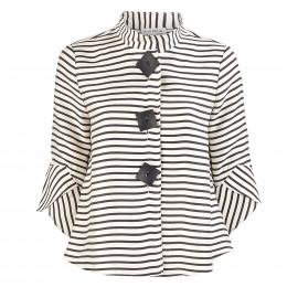 Blazer - Loose Fit - Stripes online im Shop bei meinfischer.de kaufen