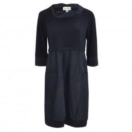 Kleid - Comfort Fit - Material-Mix online im Shop bei meinfischer.de kaufen