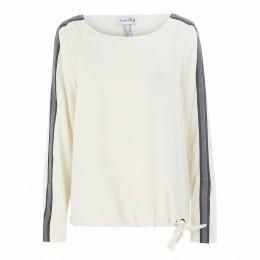 Shirtbluse - Loose Fit - Galonstreifen online im Shop bei meinfischer.de kaufen