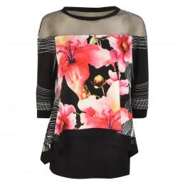 Tunika - Loose Fit - Flower-Prints online im Shop bei meinfischer.de kaufen