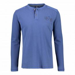 Henleyshirt - Regular Fit - unifarben online im Shop bei meinfischer.de kaufen