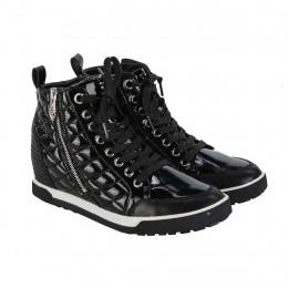 Sneakers - Lack-Optik - Leder-Mix online im Shop bei meinfischer.de kaufen