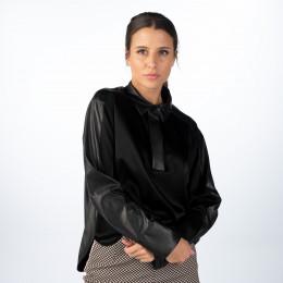 Blusenshirt - Regular Fit - semitransparent online im Shop bei meinfischer.de kaufen