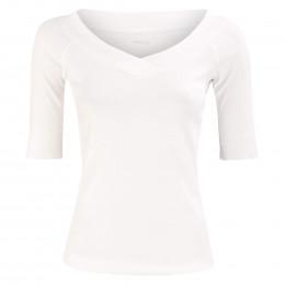 Shirt - Slim Fit - V-Neck online im Shop bei meinfischer.de kaufen