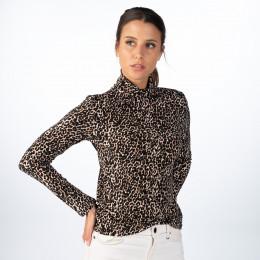 Shirt - Slim Fit - Leoprint online im Shop bei meinfischer.de kaufen