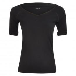 T-Shirt - Slim Fit - V-Neck online im Shop bei meinfischer.de kaufen