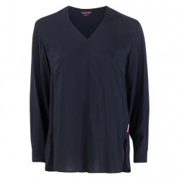 Bluse - oversized - V-Neck online im Shop bei meinfischer.de kaufen