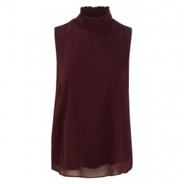 Bluse - Regular Fit - Stehkragen online im Shop bei meinfischer.de kaufen