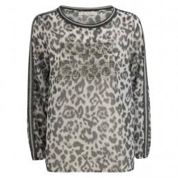 Bluse  - oversized - Leoprint online im Shop bei meinfischer.de kaufen