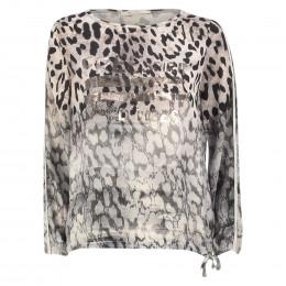 Blusenshirt - Loose Fit - Leoprints online im Shop bei meinfischer.de kaufen