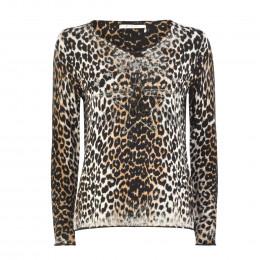 Pullover - Regular Fit - Leoprint online im Shop bei meinfischer.de kaufen
