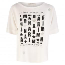 Shirt - Loose Fit - Letter-Prints online im Shop bei meinfischer.de kaufen