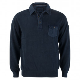 Pullover - Regular Fit - Polokragen online im Shop bei meinfischer.de kaufen