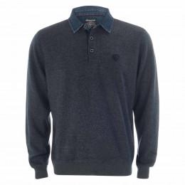 Sweatshirt - Comfort Fit - Polokragen online im Shop bei meinfischer.de kaufen