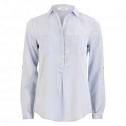 Hemdbluse - Loose Fit - Falenta dobby online im Shop bei meinfischer.de kaufen