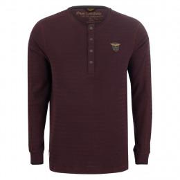 Henleyshirt - Regular Fit - Struktur online im Shop bei meinfischer.de kaufen
