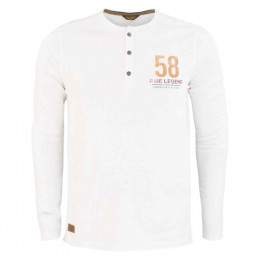 Henleyshirt - Regular Fit - Rundhals online im Shop bei meinfischer.de kaufen