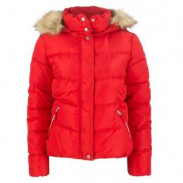 Steppjacke - Regular Fit - Fake Fur online im Shop bei meinfischer.de kaufen