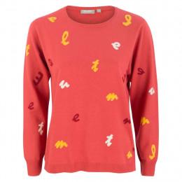 Pullover - Regular Fit - Lettering online im Shop bei meinfischer.de kaufen