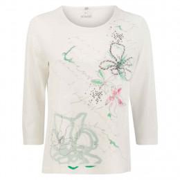 Shirt - Comfort Fit - Material-Mix online im Shop bei meinfischer.de kaufen