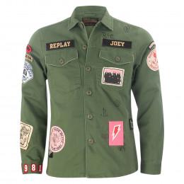 Jacke - Regular Fit - Patches online im Shop bei meinfischer.de kaufen