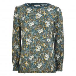 Shirt - Loose Fit - Flowerprint online im Shop bei meinfischer.de kaufen