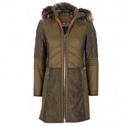 Steppmantel - fitted - Fake Fur online im Shop bei meinfischer.de kaufen