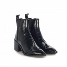 Stiefelette - Audience Black Croco online im Shop bei meinfischer.de kaufen