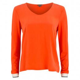 Shirt - Regular Fit - V-Neck online im Shop bei meinfischer.de kaufen