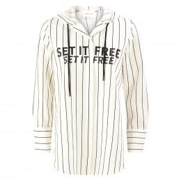 Bluse - Loose Fit - Kapuze online im Shop bei meinfischer.de kaufen