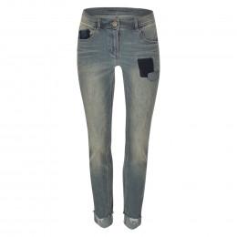 Boyfriend-Jeans - Slim Fit - Used-Look online im Shop bei meinfischer.de kaufen