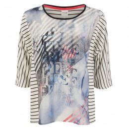 Shirt - Regular Fit - Satin-Print online im Shop bei meinfischer.de kaufen