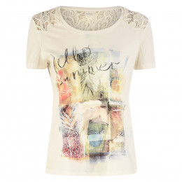 T-Shirt - Loose Fit - Spitze online im Shop bei meinfischer.de kaufen