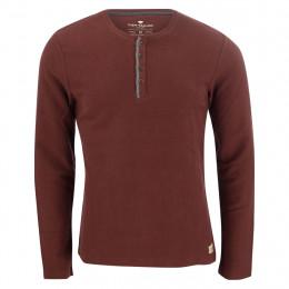 Henleyshirt - Modern Fit - Struktur online im Shop bei meinfischer.de kaufen