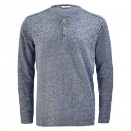 Sweatshirt - Regular Fit - Henley online im Shop bei meinfischer.de kaufen