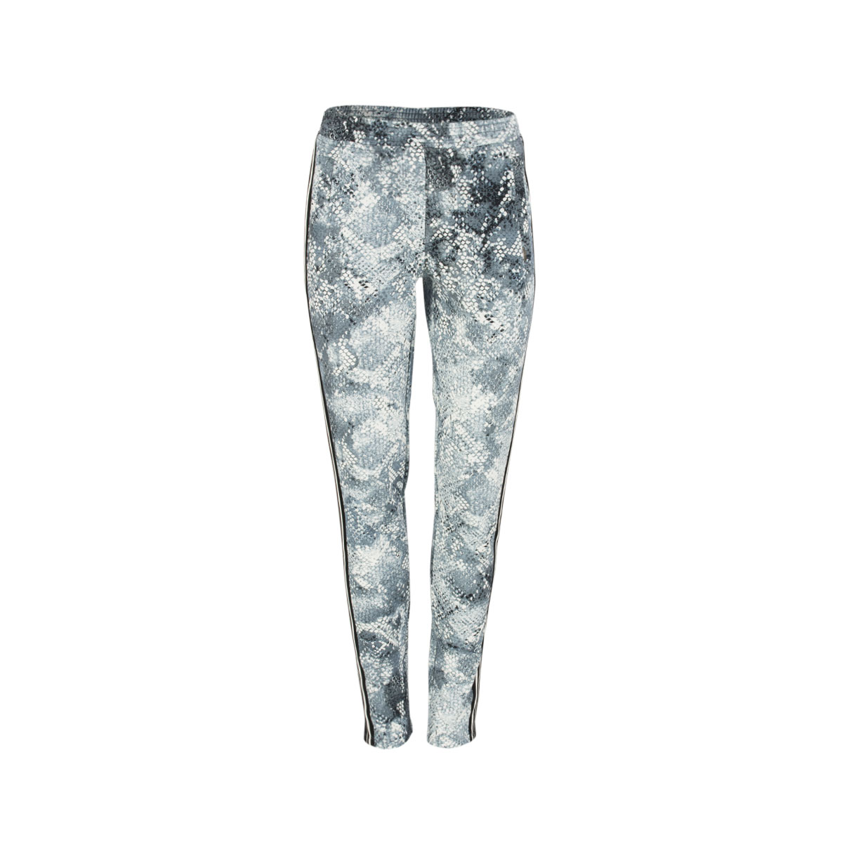 Joggpants - Slim Fit - Snake-Print